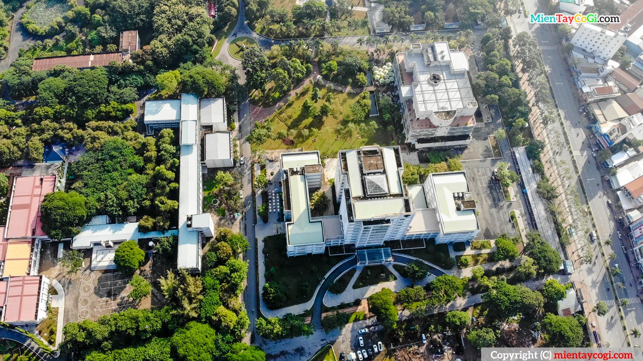 Hình ảnh Đại học Cần Thơ Flycam | Bất ngờ với trường lớn nhất miền Tây
