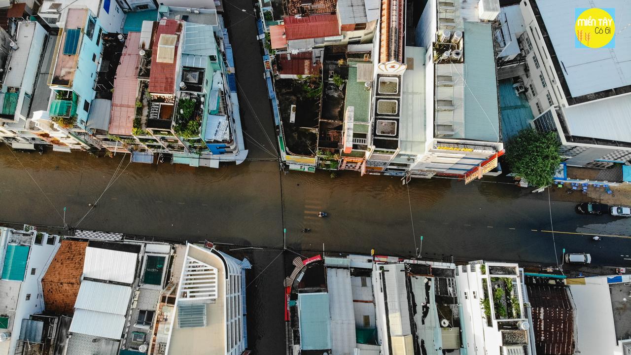 Nước ngập ở Cần Thơ | Toàn cảnh Flycam và cảm nhận người dân tại đây