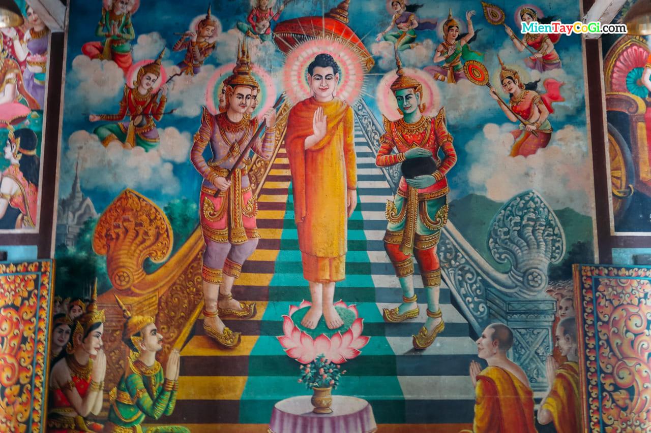 Cuộc đời đức Phật ở chùa Dơi