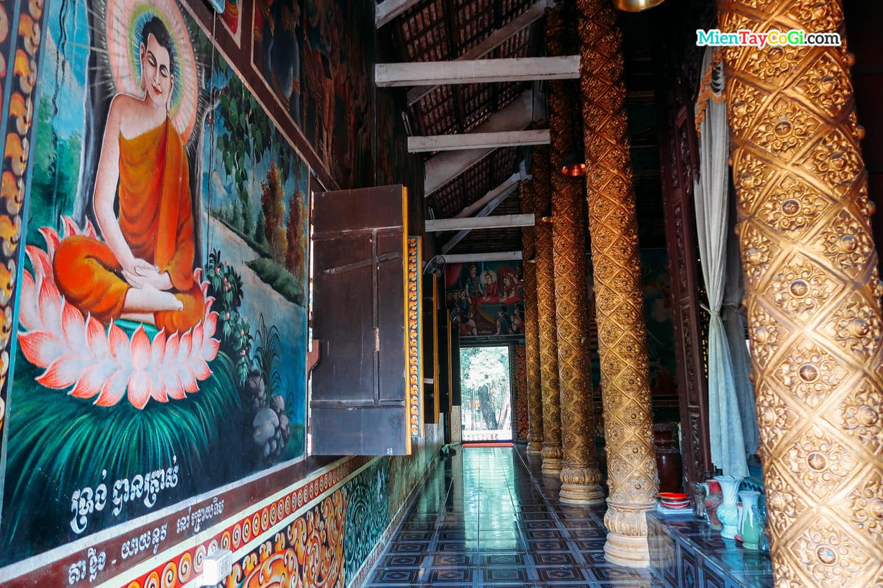 Hành lang chùa Dơi