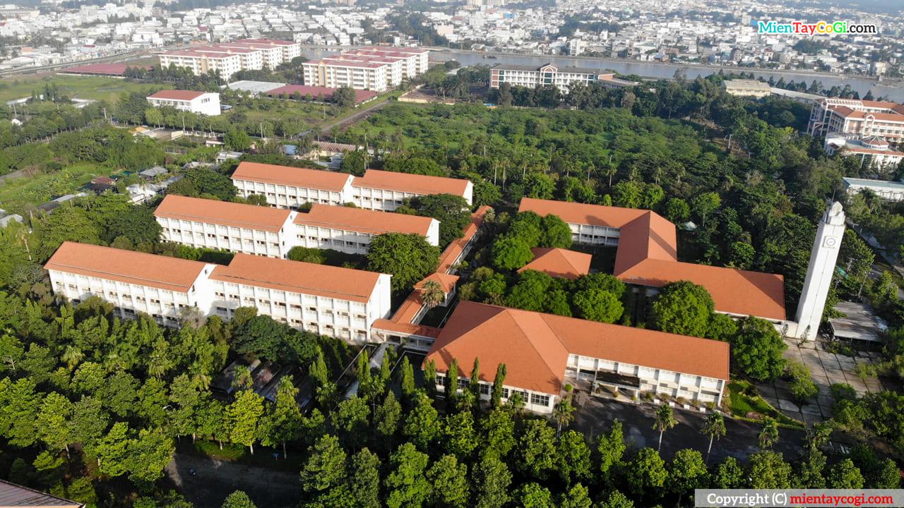 Khoa nông nghiệp Đại học Cần Thơ Flycam