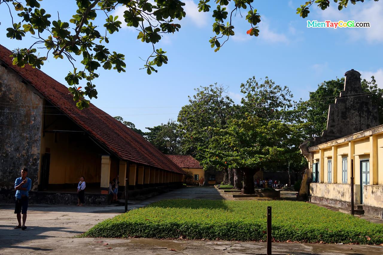 Một góc nhà tù Côn Đảo