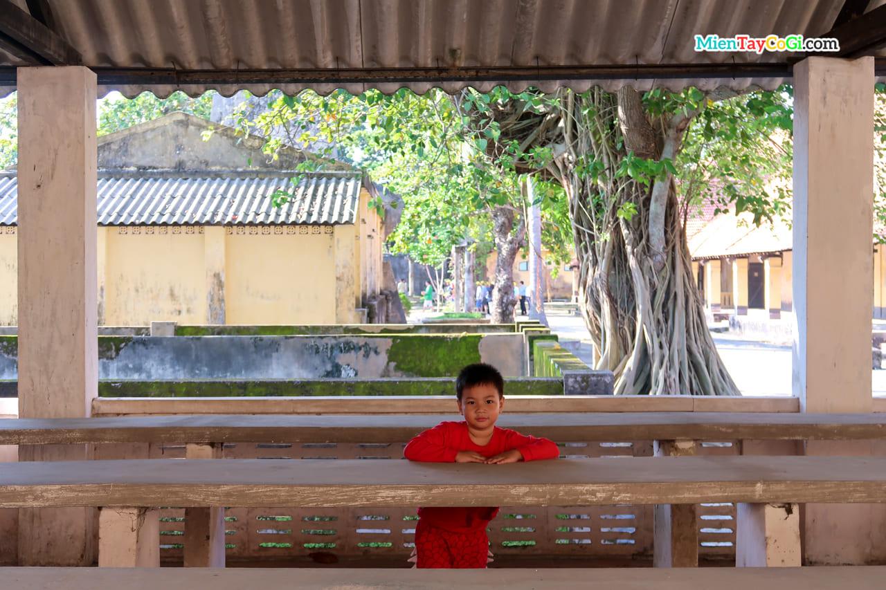 Một vị khách du lịch thú vị tại nhà tù Côn Đảo