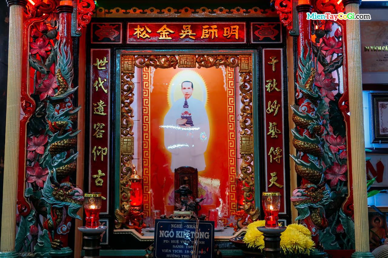 Nơi thờ ông Ngô Kim Tòng