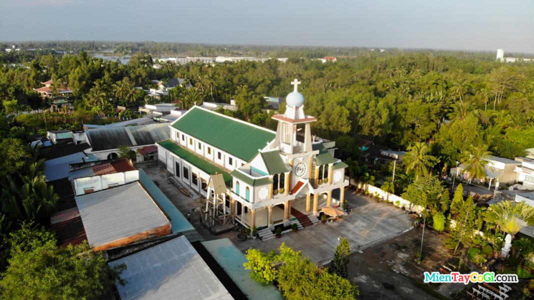 Nhà thờ Long Mỹ Hậu Giang