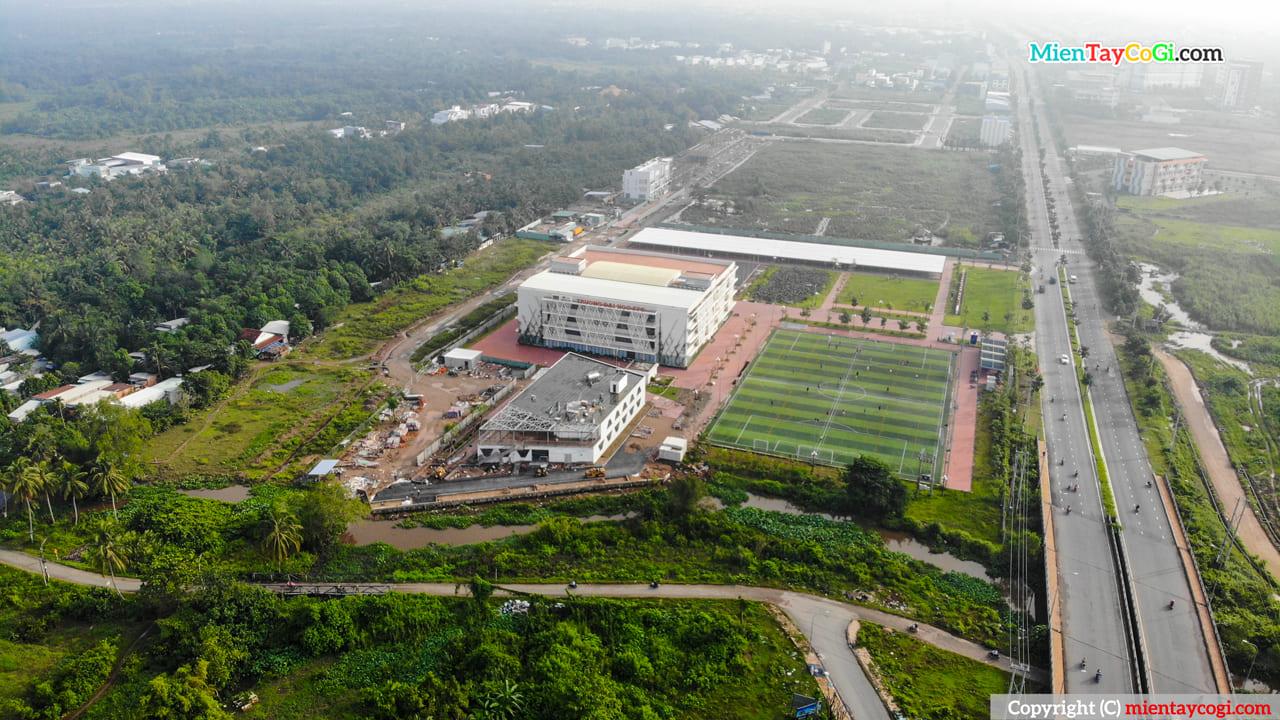 Trường Đại học FPT Cần Thơ flycam