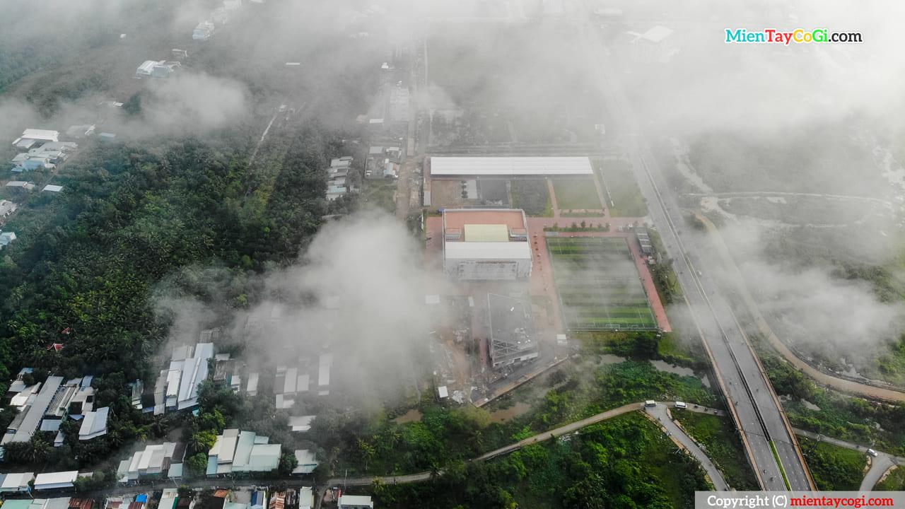 Trường Đại học FPT nhìn từ trên cao