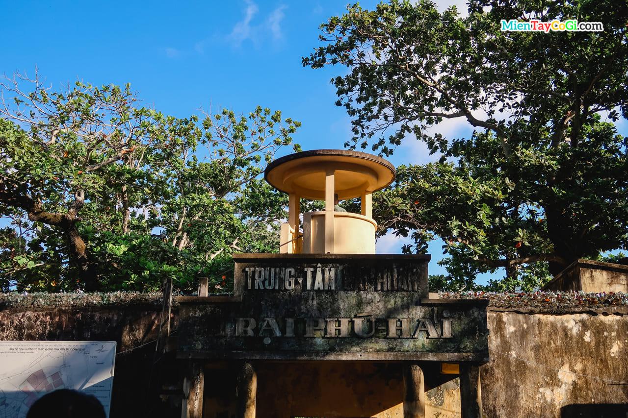 Trại Phú Hải ở nhà tù Côn Đảo