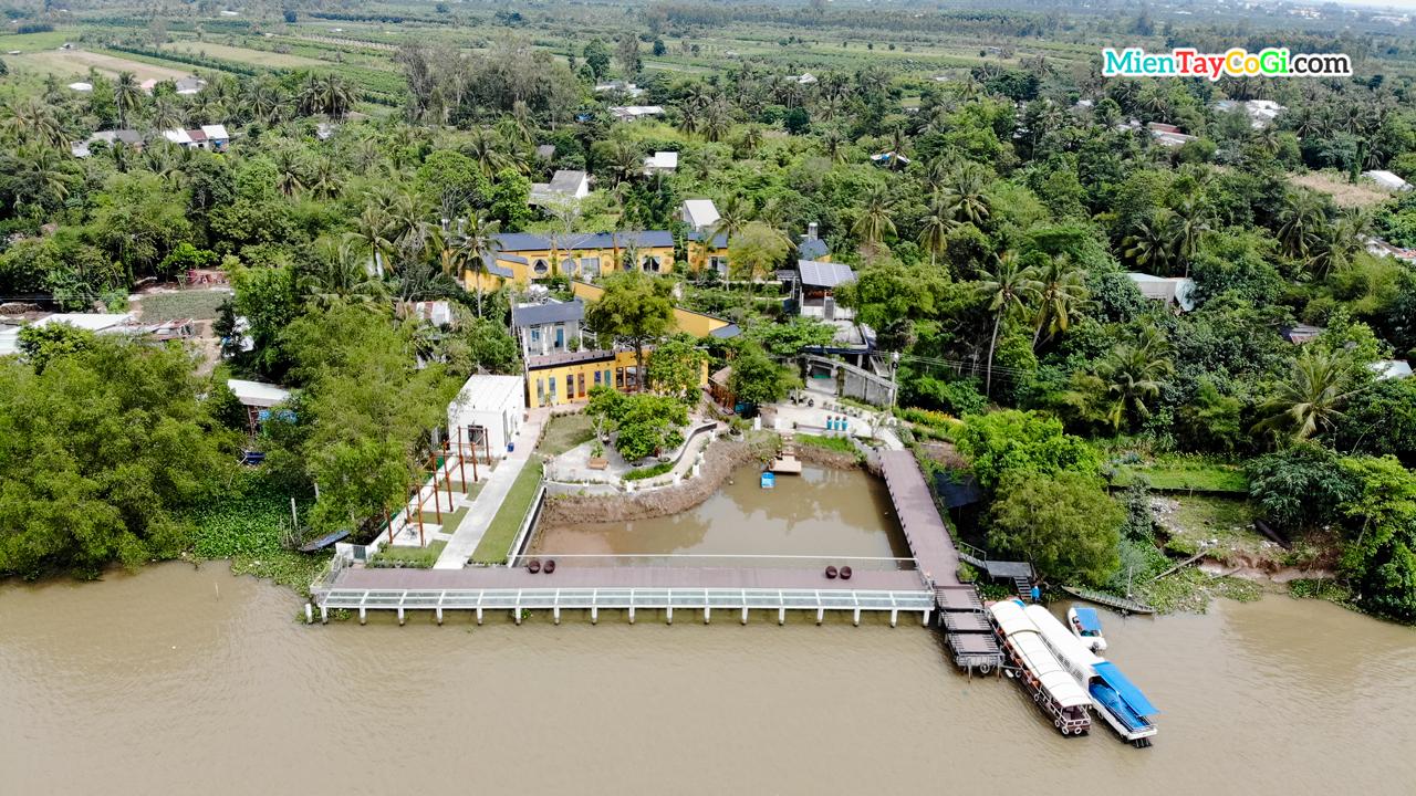 Bình Minh Eco Lodge | Homestay Cần Thơ chuẩn 5 sao đẹp NGẤT NGÂY