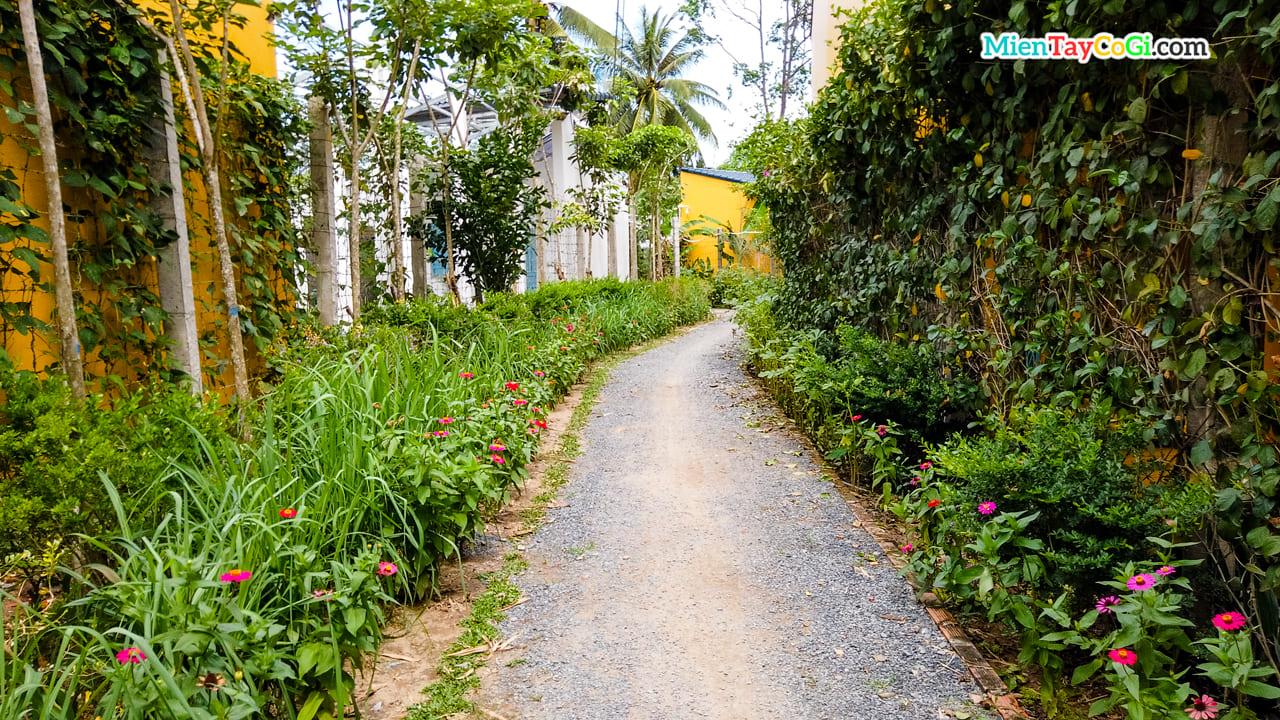 Con đường làng miền Tây