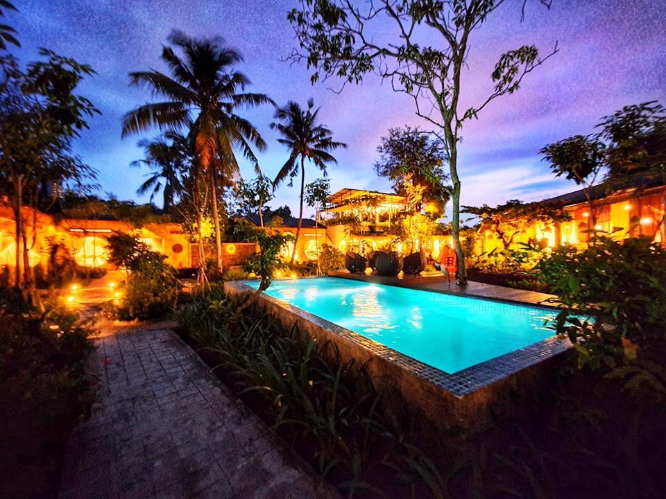 Eco Lodge Bình Minh có cả hồ bơi