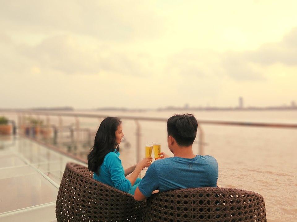 Nơi ngắm view sông tại Bình Minh Eco Lodge