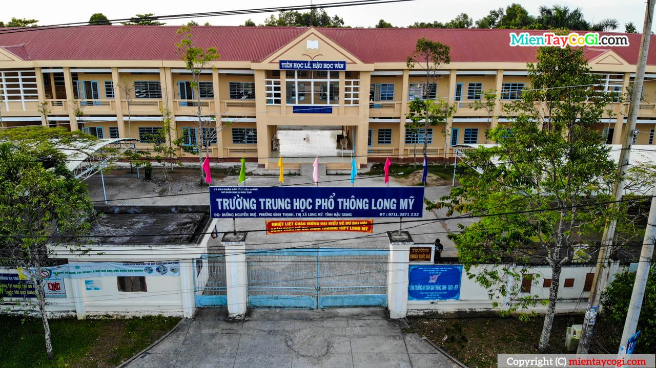 Trường THPT Long Mỹ Hậu Giang