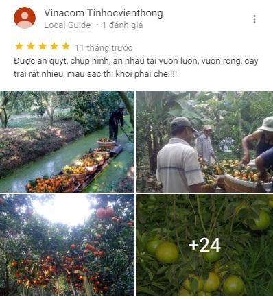 Đánh giá vườn Út Hớn của khách tham quan