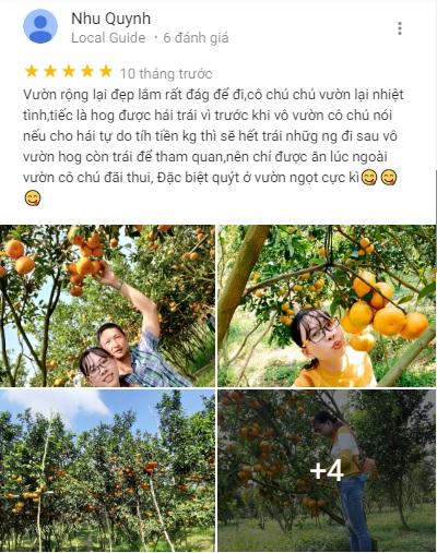 Đánh giá vườn Phương Nghi trên mạng xã hội