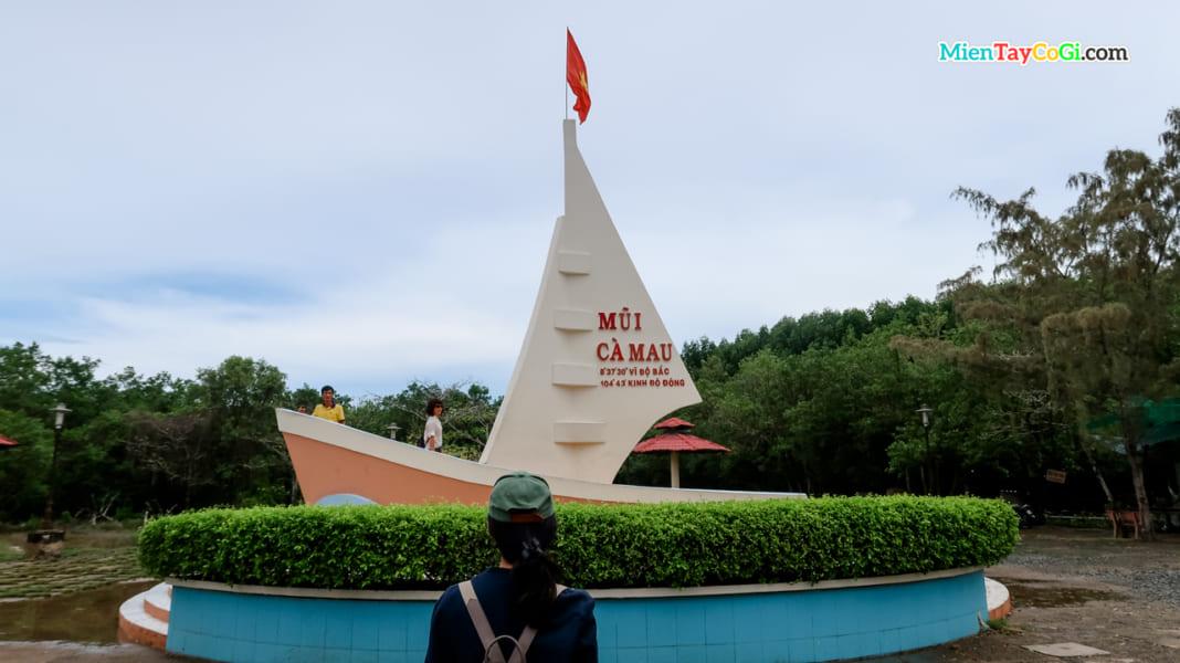 Biểu tượng con tàu Mũi Cà Mau