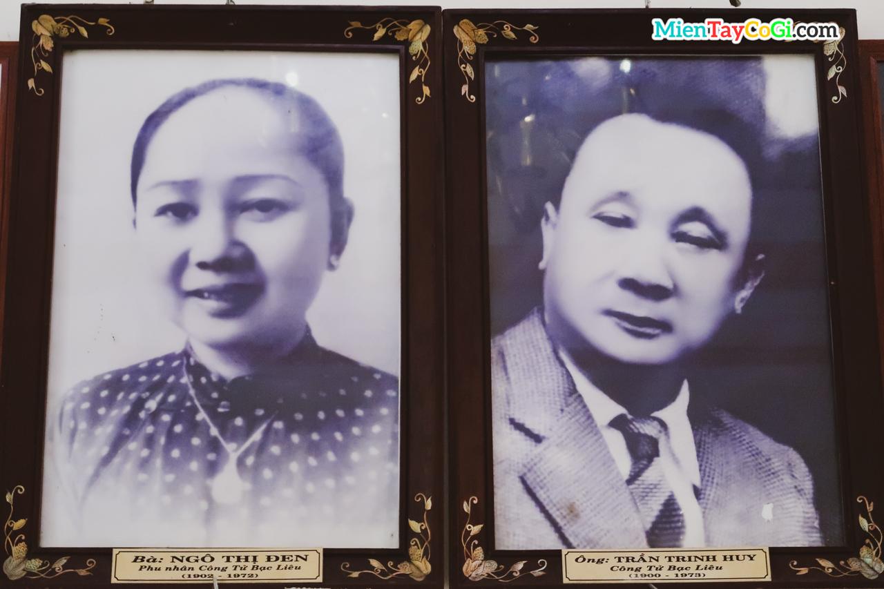 Hình ảnh công tử Bạc Liêu và vợ cả