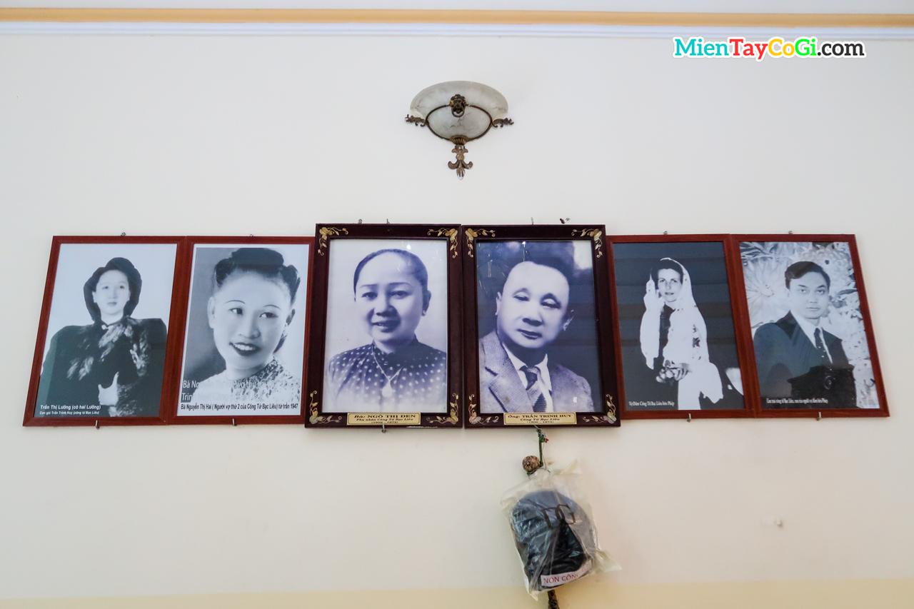 Trần Trinh Huy và vợ con