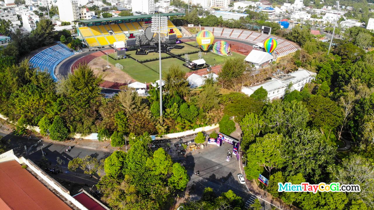 Nơi diễn ra lễ hội khinh khí cầu