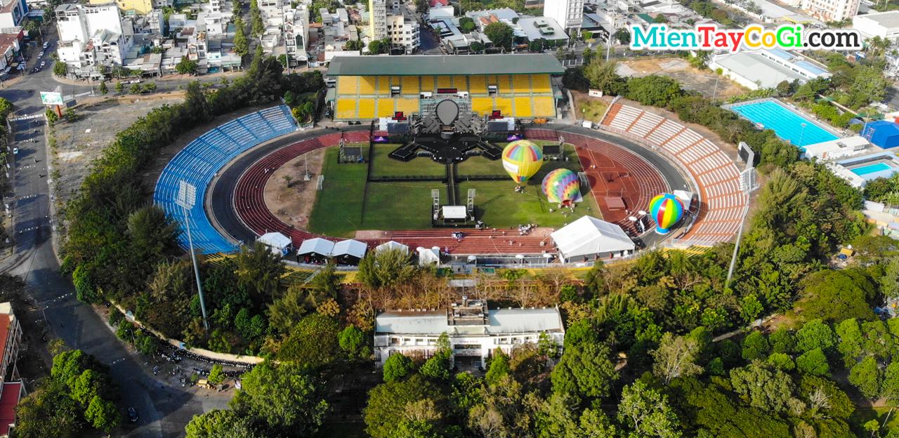 Quang cảnh lễ hội khinh khí cầu