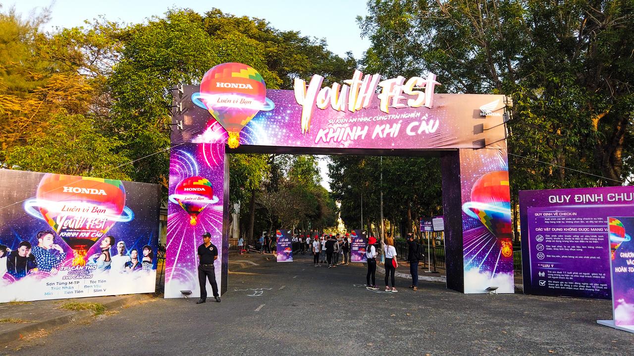 Youth Fest Khinh Khí Cầu - Honda luôn vì bạn