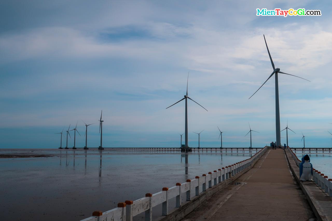 Khu du lịch Điện gió Bạc Liêu