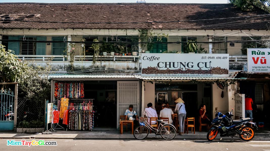 Cafe chung cư Cần Thơ