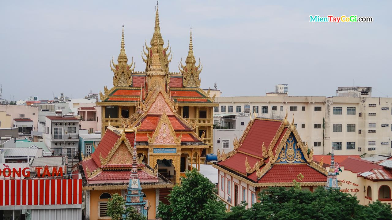 Chùa Khmer Cần Thơ | Muniransay វត្ត មុនីរង្សី có gì | Đường đi | Kiến Trúc