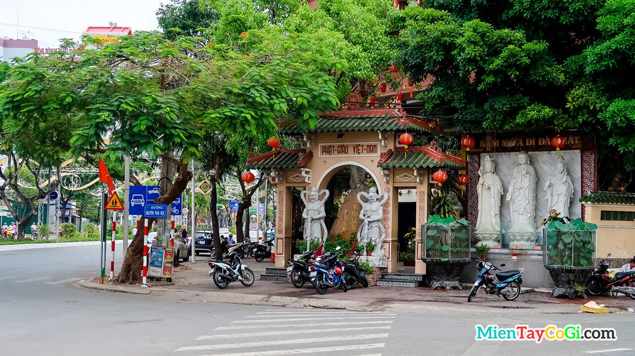 Chùa trước đây được hội Phật Giáo Việt Nam thành lập