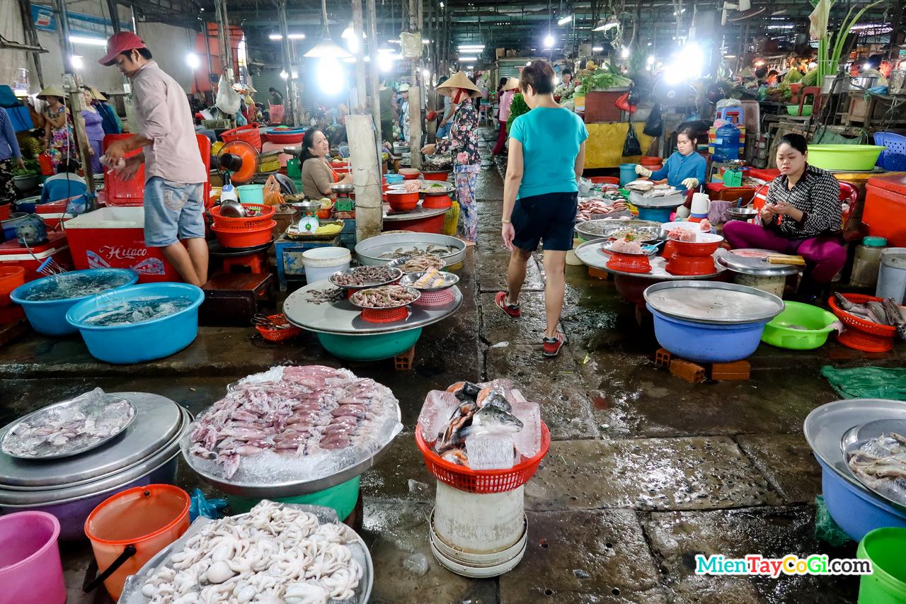 Chợ cá Cần Thơ