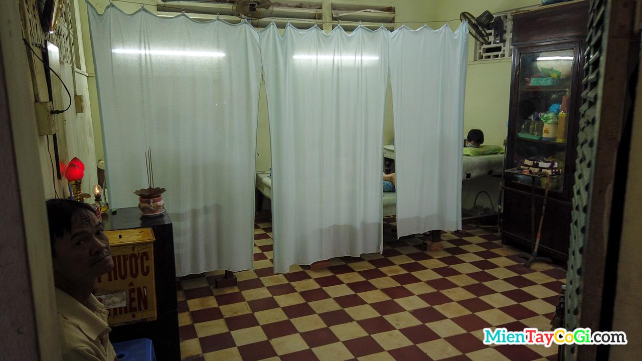 Phòng châm cứu chùa Tịnh Độ Cần Thơ