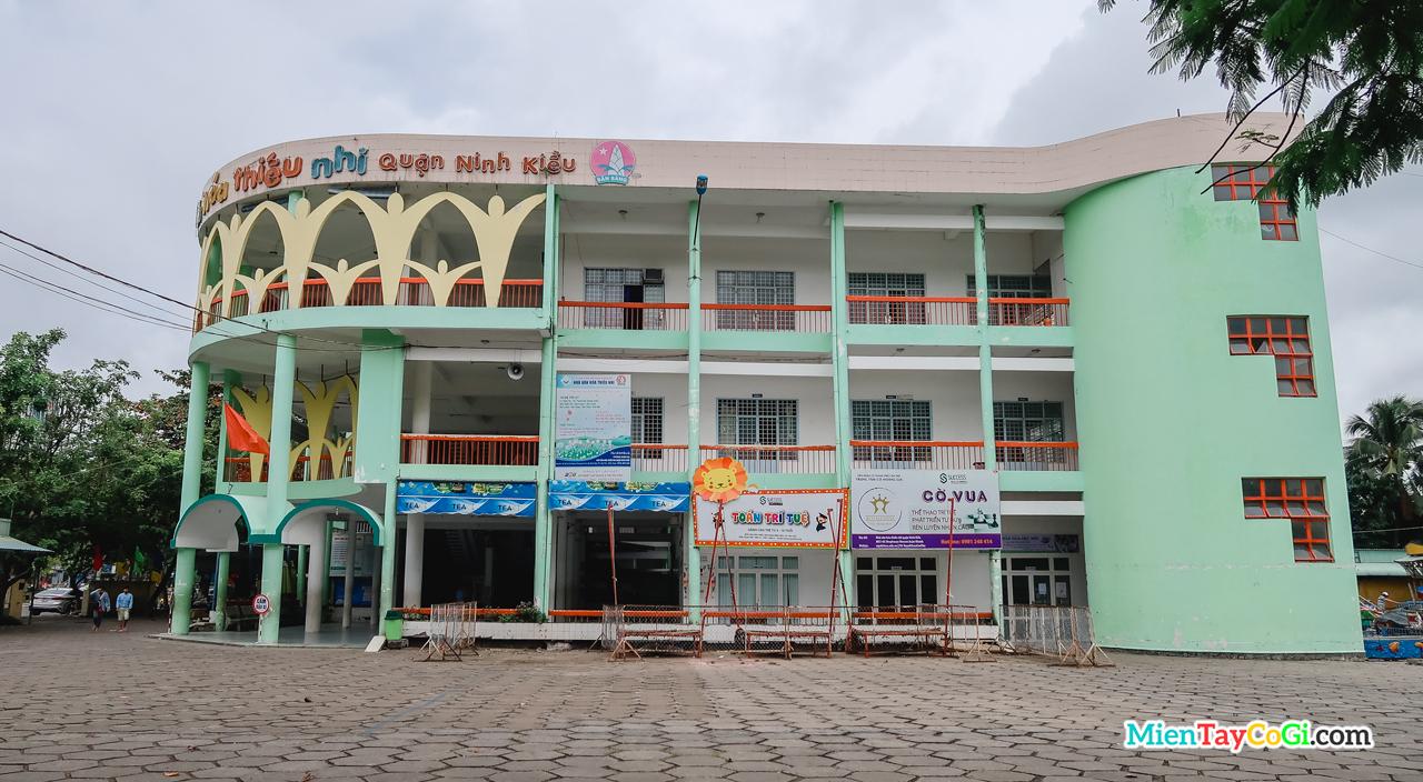 Trung tâm văn hóa thiếu nhi quận Ninh Kiều Cần Thơ