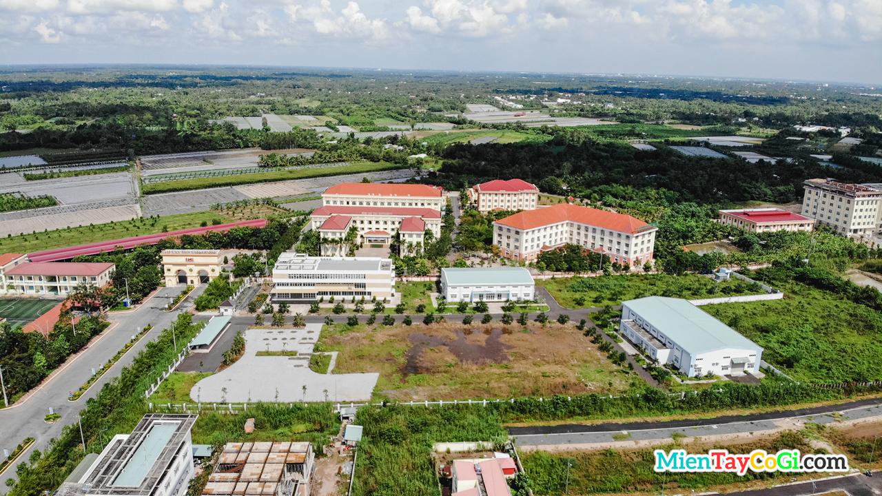 Đại học Nam Cần Thơ Flycam