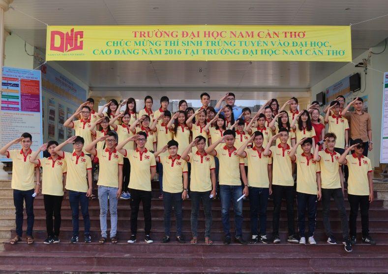 Đồng phục đại học Nam Cần Thơ