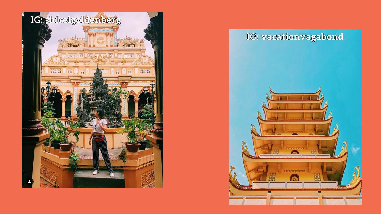 Ảnh instagram về chùa Vĩnh Tràng phần 2