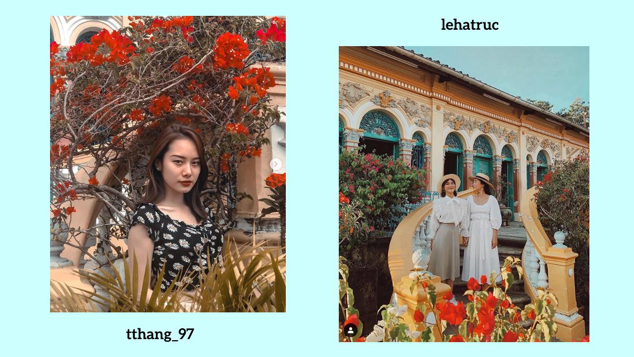 Hình ảnh đẹp ở nhà cổ Bình Thủy trên Instagram phần 1