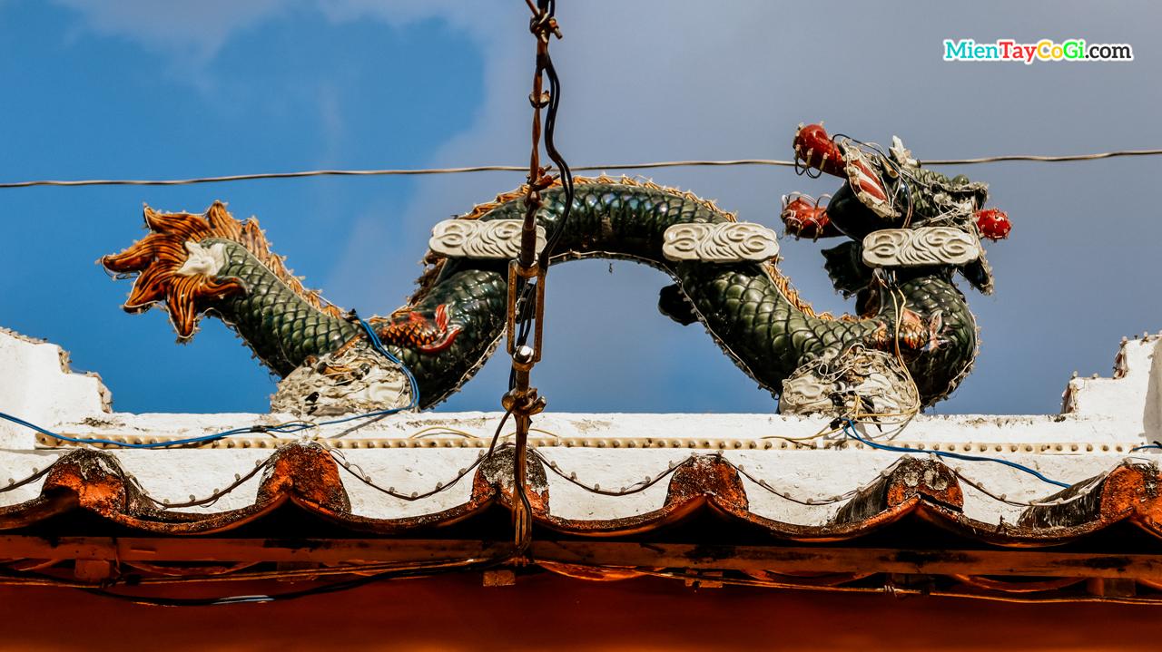 Hình tượng rồng ở đình Bình Thủy