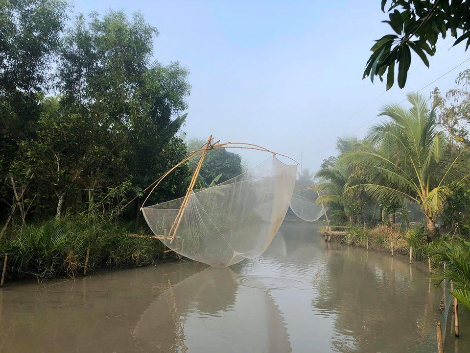 Khung cảnh miệt vườn miền Tây tại kdl Mỹ Khánh