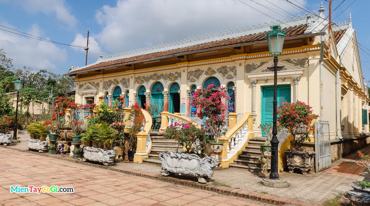 Kiến trúc ngôi nhà cổ Bình Thủy