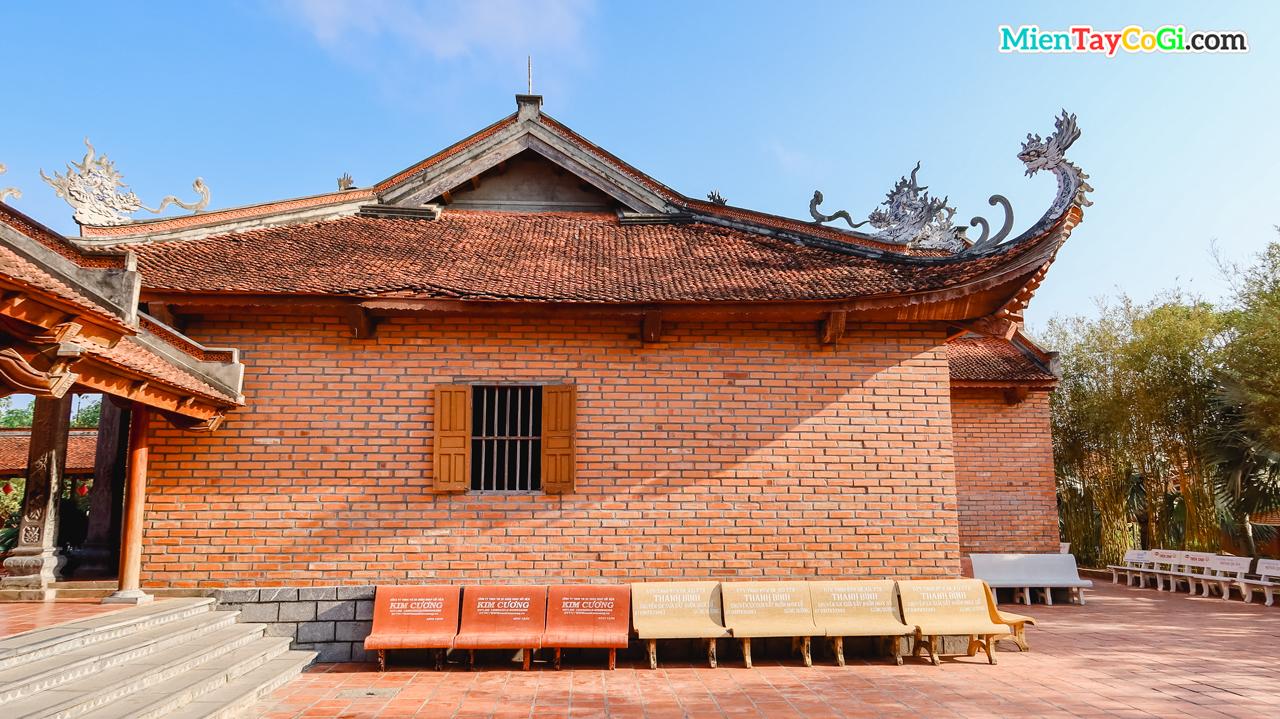 Kiến trúc phòng ốc Thiền viện Trúc Lâm Phương Nam