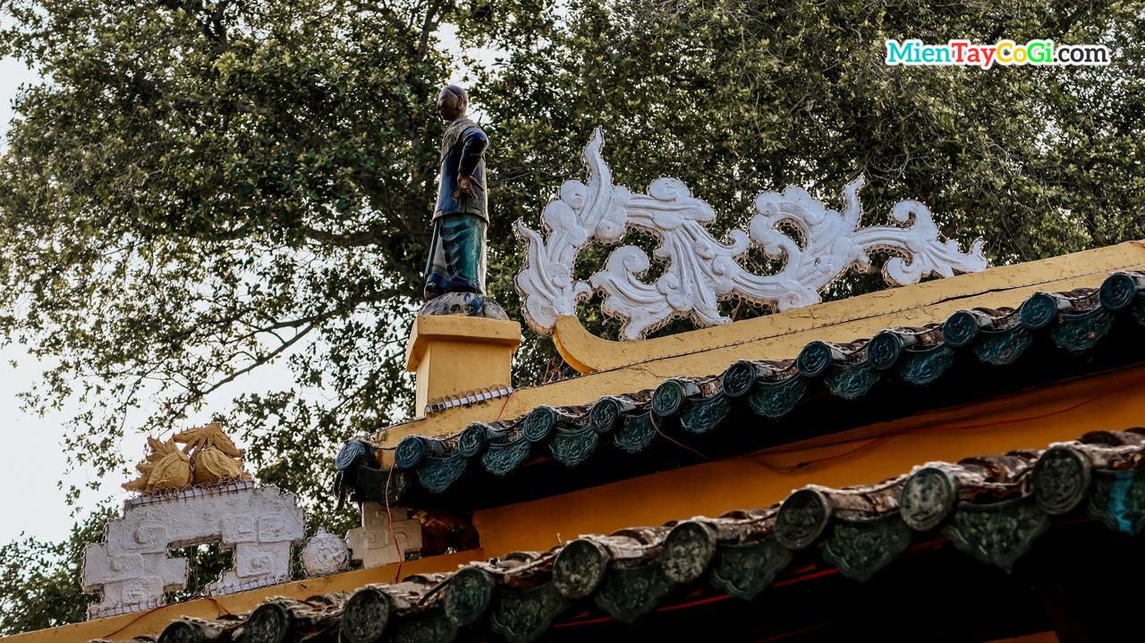 Kiến trúc tinh xảo mang ảnh hưởng kiến trúc người Hoa gốc Quảng Đông
