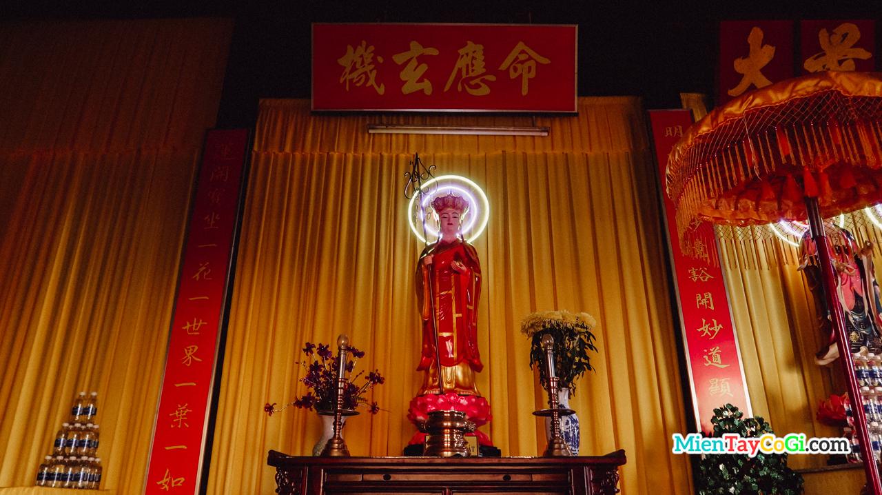 Nơi thờ Địa Tạng Vương Bồ Tát chùa Nam Nhã