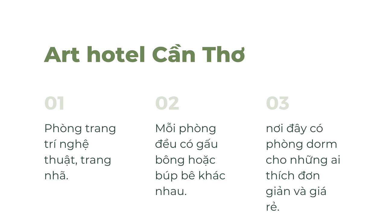 Art hotel Cần Thơ có gì