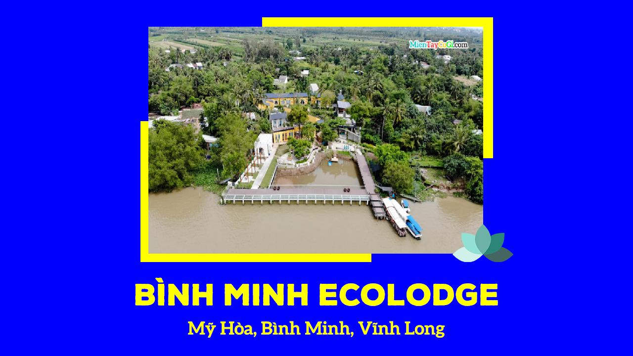 Bình Minh Ecolodge homestay Cần Thơ