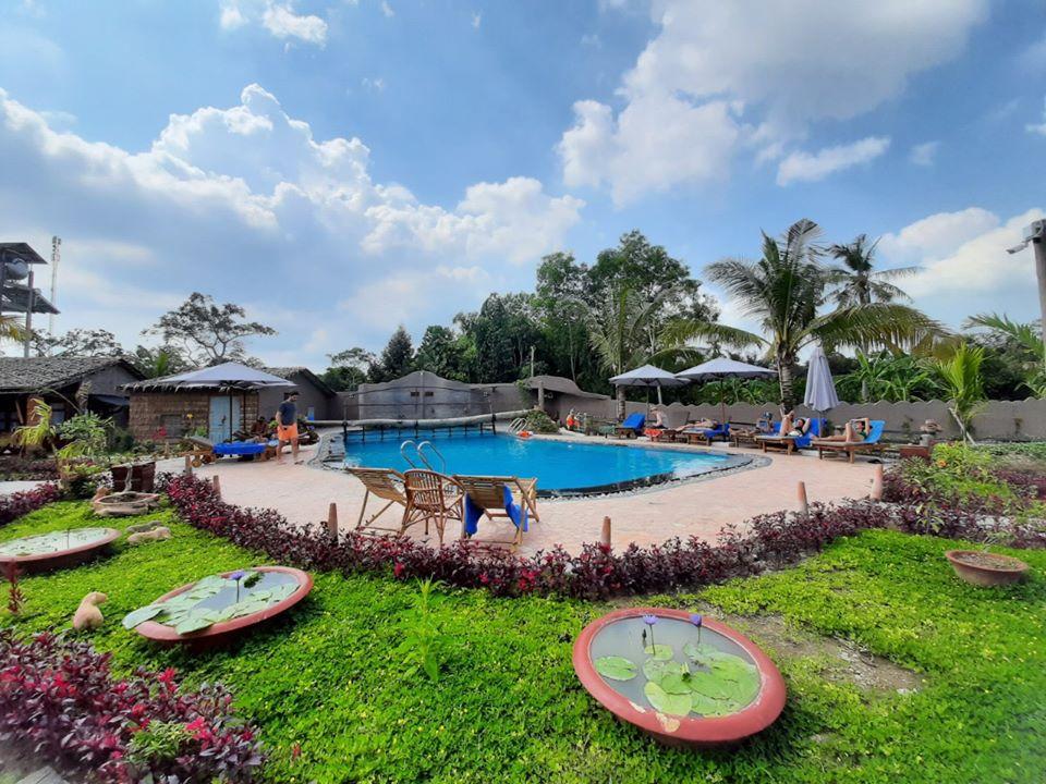 Hồ bơi Mekong Rustic Cần Thơ