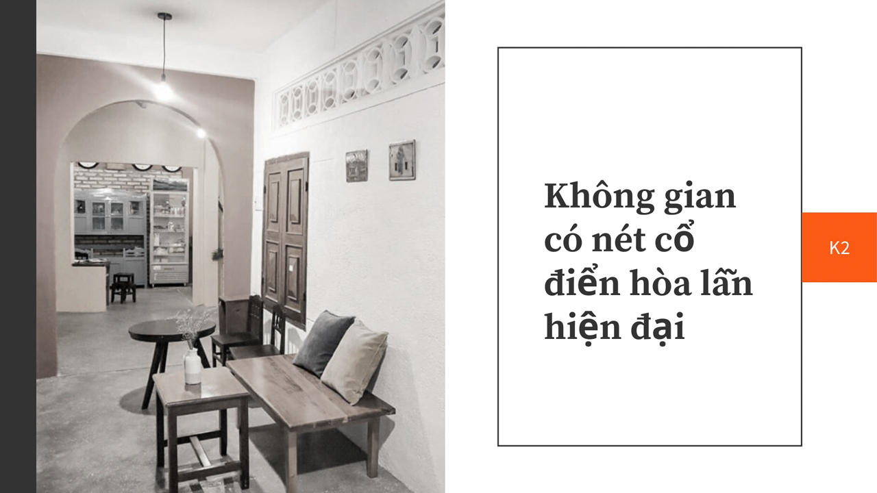 Homestay có phong cách cổ điển và hiện đại đan xen