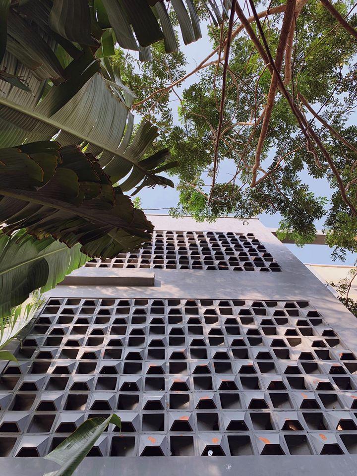 Kiến trúc bên ngoài của N&D homestay Cần Thơ