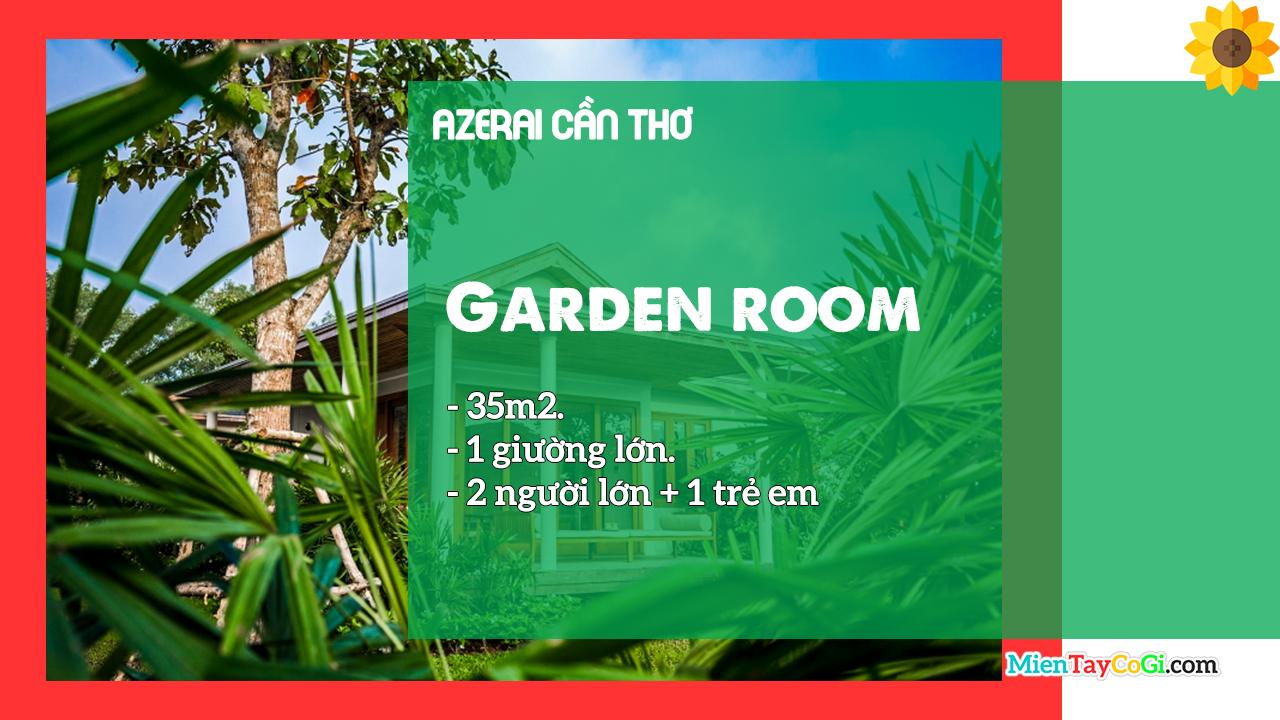 Mô tả phòng Garden Room Azerai
