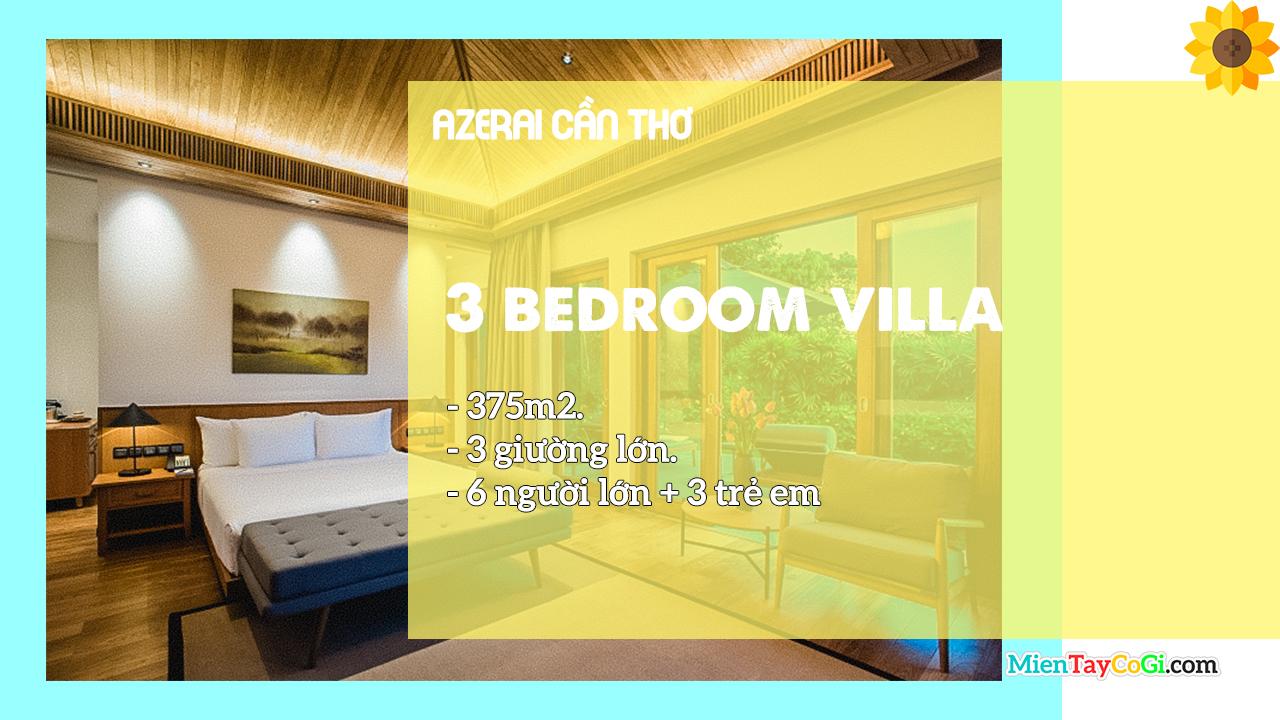 Mô tả phòng Villa 3 giường Azerai