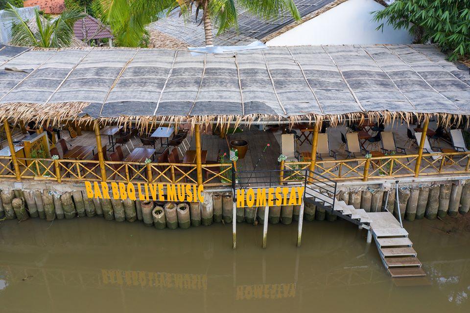 Nhà hàng Song Ngư homestay ven sông